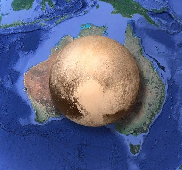 Плутон и Австралия