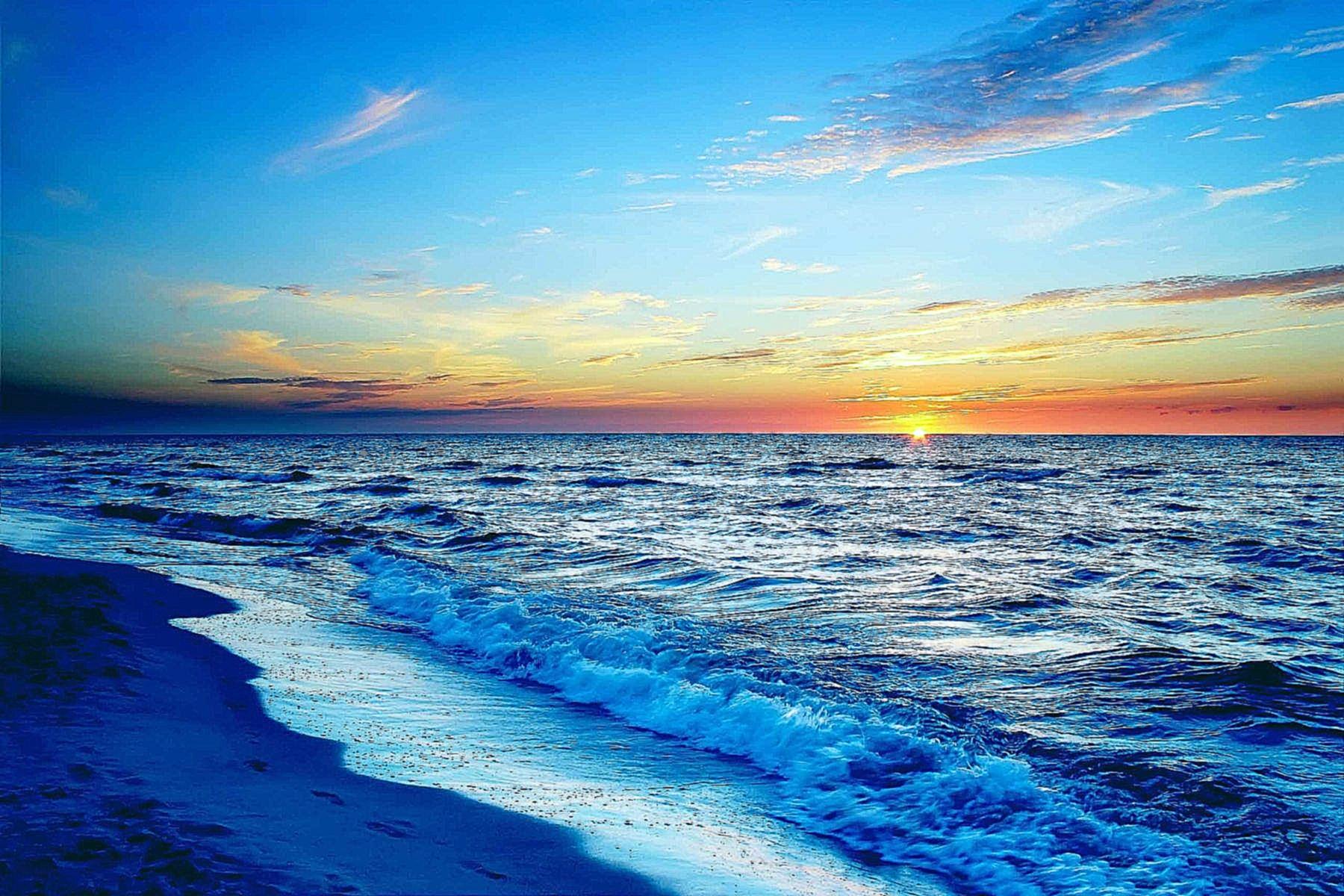 картинки про закат на море